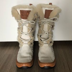 The North Face Tall Waterproof Lace-Up Boots 10